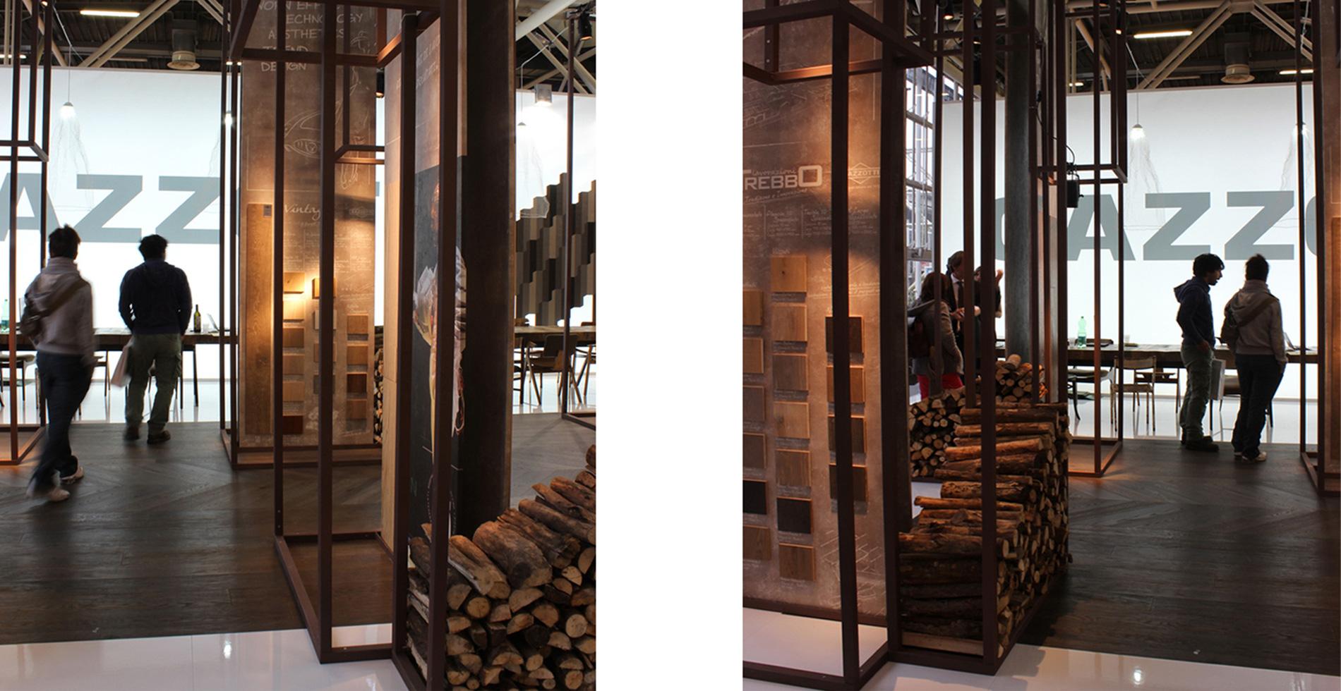 Stand espositivo Gazzotti - Cersaie 2015 | Designer: Antonio Pascale