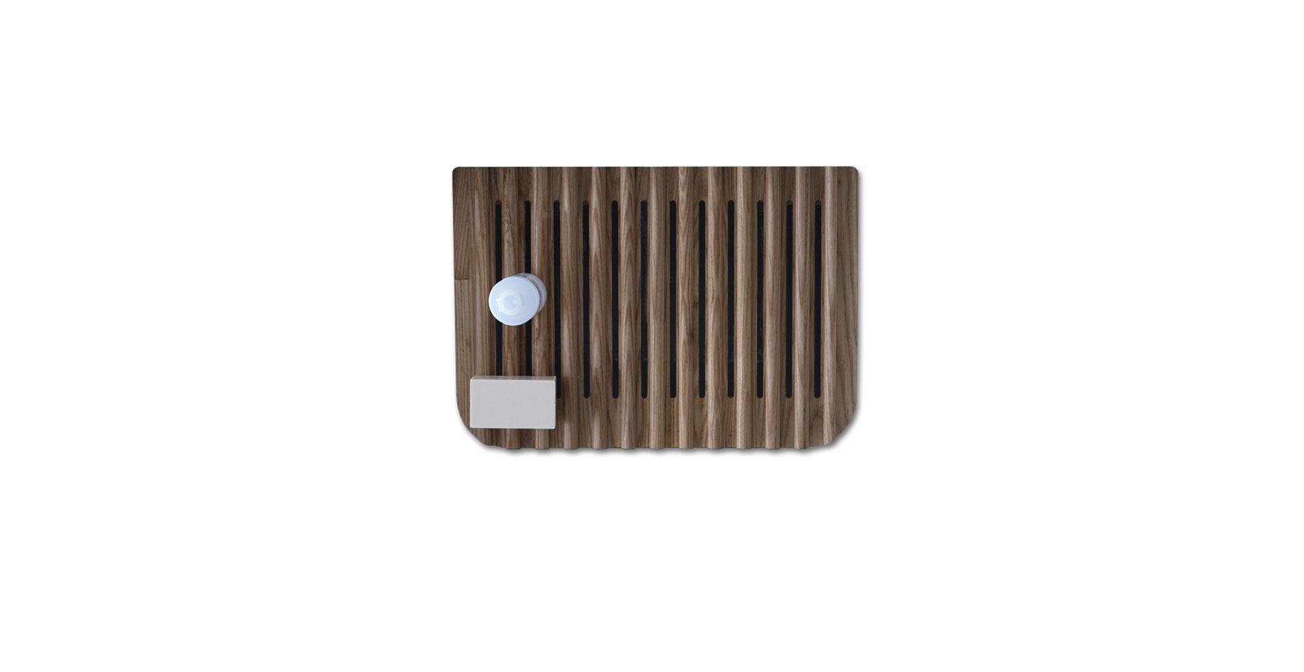 MEG11 - Lavabo lavatoio in legno di frassino - IF Product Design Award 2012 - Design by Antonio Pascale per Galassia